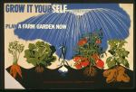 victory garden vintage poster grow it yourself